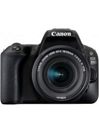 Aparat Foto Canon EOS 200D cu Obiectiv 18-55mm f/4-5.6 IS STM + CashBack Canon 230 Lei