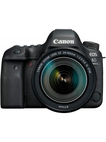 Aparat Foto Canon EOS 6D Mark II cu Obiectiv Canon EF 24-105mm f/3.5-5.6 IS STM