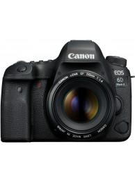 Aparat Foto Canon EOS 6D Mark II cu Obiectiv Canon EF 50mm f/1.4