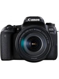 Canon EOS 77D cu Obiectiv 18-135mm IS USM +CashBack Canon 240LEI