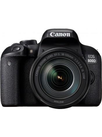 Canon EOS 800D cu Obiectiv 18-135mm IS USM Nano