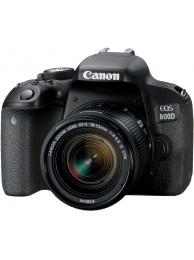 Canon EOS 800D cu Obiectiv 18-55mm f/4-5.6 STM