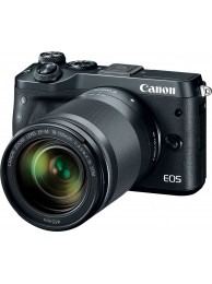 Canon EOS M6, Negru cu Obiectiv 18-150mm