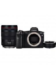 Aparat Foto Mirrorless Canon EOS R cu Obiectiv RF24-105mm f4 L IS USM + Inel Adaptor
