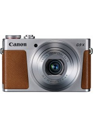 Aparat Foto Canon PowerShot G9X Mark II, 20.1 MPx, Senzor CMOS, Procesor DIGIC7, WiFi / NFC / BT, Gri + CashBack Canon 190 Lei