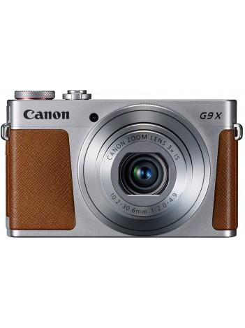 Aparat Foto Canon PowerShot G9X Mark II, 20.1 MPx, Senzor CMOS, Procesor DIGIC7, WiFi / NFC / BT, Gri