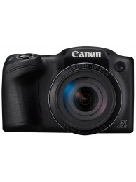 Aparat Foto Canon PowerShot SX430 IS, 20 MPx, Zoom Optic 45x, WiFi / NFC, Negru