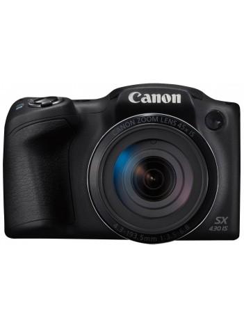 Aparat Foto Canon PowerShot SX430 IS, 20 MPx, Zoom Optic 45x, WiFi / NFC, Negru