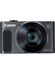 Aparat Foto Canon PowerShot SX620 HS, 20 MPx, Video 1080p, Zoom Optic 25x, Wireless, Negru