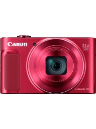 Aparat Foto Canon PowerShot SX620 HS, 20 MPx, Video 1080p, Zoom Optic 25x, Wireless, Rosu