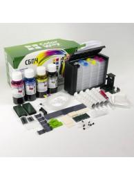 Sistem CISS ColorWay pentru Canon MG6350/MG7150 cu cerneala 6x100 ml. (pigment black)