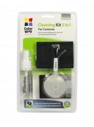 ColorWay CW-4206 Kit de Curatare 5 in 1 pentru Lentile si Aparate Foto