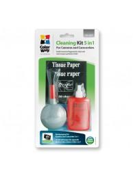 ColorWay CW-4207 Kit de Curatare 5 in 1 pentru Lentile si Aparate Foto