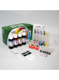Sistem CISS ColorWay pentru Canon IP4850/MG5250 cu cerneala 5x100 ml. (pigment black)