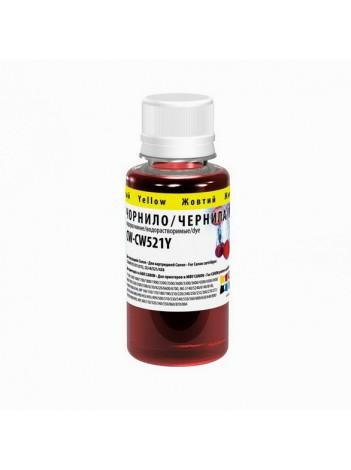 Cerneala ColorWay Canon CL-38/CLI-521 Yellow CW521Y 100 ml/Recipient