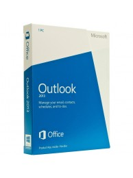 Aplicatie Microsoft Outlook 2013 engleza Medialess - FPP