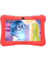 "Tableta Dragon Touch Y88X Plus Kids, 7"" IPS, Quad Core, 8 GB Flash, Android 5.1, Portocaliu (Include: Aplicatie Kidoz pentru Copii) +BONUS: Husa din Silicon"