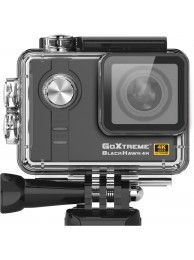 Camera Video Sport GoXtreme Black Hawk 4K @30fps, Senzor Sony IMX117 12.4 MPx, Procesor Ambarella 12, Instantanee 16 MPx (Include 6 Accesorii), KIT