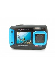 Camera Foto Subacvatica AquaPix W1400 Active, 20 MPx, Dustproof, Shockproof, Albastru (Dual Display, Pentru Selfie-uri Sub Apa)