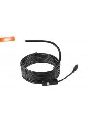 Camera inspectie - endoscop Media-Tech MT4095, 5 m,6 led-uri, pentru Android sau PC