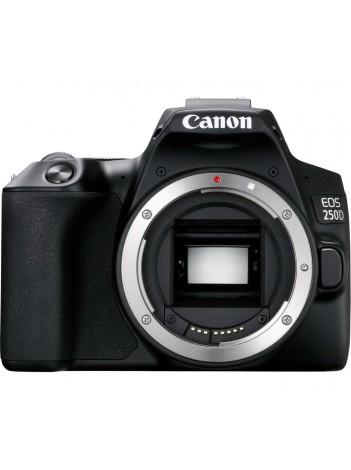 Aparat Foto DSLR Canon EOS 250D Body, Negru