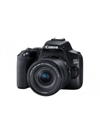 Aparat Foto DSLR Canon EOS 250D cu Obiectiv 18-55mm IS STM