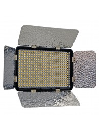 Lampa Lumina Continua LED Jupio Power LED 330, 330 Led-uri, Voleti Detasabili, Temperatura Culoare 3200-5500K, fara Acumulator
