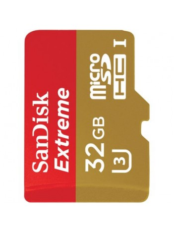 Card Memorie SanDisk Extreme, UHS-I, Micro SDXC, 32GB, WaterProof, ShockProof, X-Ray Proof