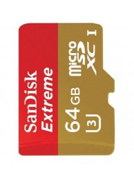 Card Memorie SanDisk Extreme, UHS-I, Micro SDXC, 64GB, WaterProof, ShockProof, X-Ray Proof