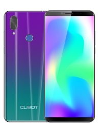 "Telefon Mobil CUBOT X19S, 4G, 5.93"" FHD+, 4+32GB, Android 9, Gradient (include Husa Silicon si Folie)"