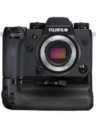 Aparate foto Mirrorless FUJIFILM X-H1 Body, 24MP, APSC, 4K cu Grip VPB-XH1, Negru