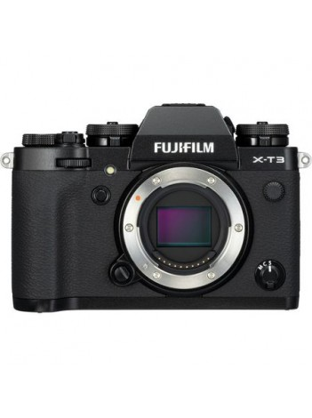 Aparate foto Mirrorless FUJIFILM X-T3 Body, Negru