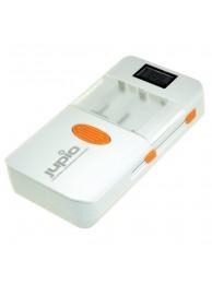 Incarcator Jupio Universal PowerVault pentru acumulatori Li-Ion, acumulatori Ni-Mh AA si AAA cat si dispozitive USB