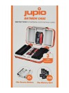 Jupio Batmem Case, Cutie pentru 2 Acumulatori si 14 carduri de memorie