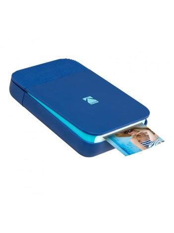 Imprimanta foto portabila Kodak Smile, Bluetooth, Albastru, Imprimare Termica
