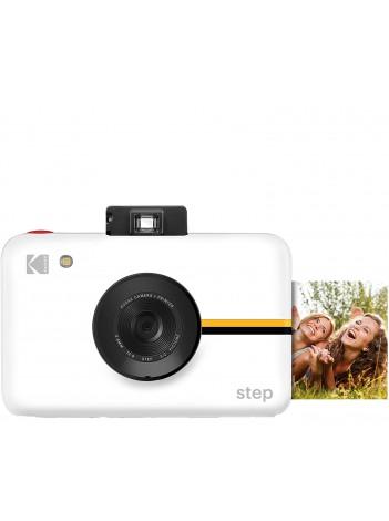 Aparat foto instant Kodak Step, Alb