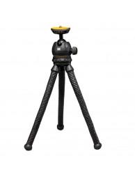 KODAK PhotoGear Flexi, mini-trepied flexibil cu cap bila, 27cm, picioare flexibile, include adaptor pentru smartphone si pentru camere de actiune