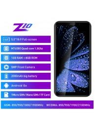 "Telefon Mobil Leagoo Z10, 5"", 8GB, Android GO, Negru +Husa si Folie"