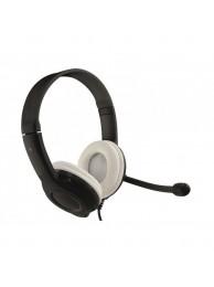 Casti cu Microfon Media-Tech EPSILON USB, Control Volum, Negru