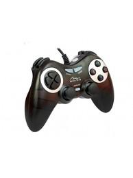 Gamepad Media-Tech CORSAIR II, Digital/Analog pentru PC si PS3, cu Vibratii, Negru