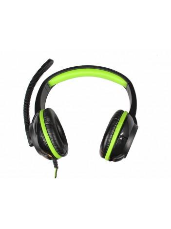 Casti cu Microfon Gaming Media-Tech PURUS 40mm, Full-Size, STEREO, Control Volum, Fir Cauciucat 2m