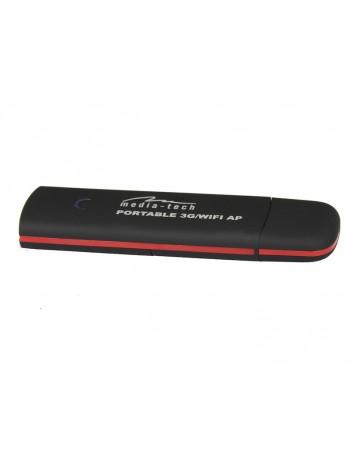 Modem 3G Wireless Portabil Media-Tech pentru pana la 5 Utilizatori, Alimentat prin USB 5V