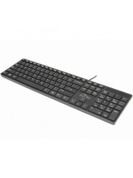 "Tastatura Standard ""QWERTY"", Design Slim tip Apple, USB"