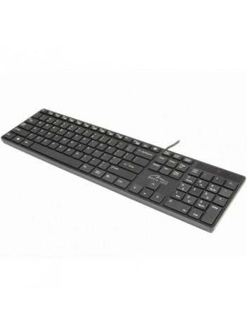 "Tastatura Standard ""QWERTY"", Design Slim tip Apple, USB"