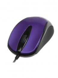 Mouse Optic Media-Tech 3 Butoane, Scroll, 800 dpi, USB, Violet