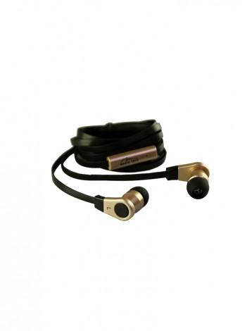 Casti cu Microfon Media-Tech MIDAS cu Buton On/Off pentru Acceptare/Refuzare Apeluri Telefonice, pentru Player MP3/4, SmartPhone sau Tableta, Editie GOLD