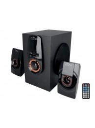 Sistem Audio 2.1 Bluetooth Media-Tech Zorkon 2.1 BT, 20W RMS, Port USB, Negru