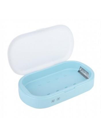 Cutie de dezinfectare UVC Media-Tech MT6517, Sterilizator pentru Telefoane, chei si alte dispozitive de mici dimensiuni, functie Aromaterapie