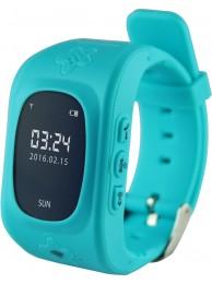 Smartwatch Media-Tech Kids Locator GPS, Dispozitiv pentru localizarea copiilor prin GPS (Compatibil Android 4.2 sau mai recent, iOS 6.0 sau mai recent), Albastru