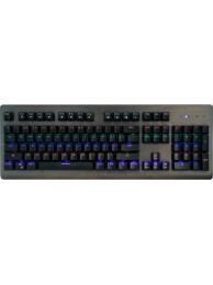 Tastatura Mecanica Media-Tech Cobra Pro INFERNO, 104 Taste, 12 Taste Multimedia, Iluminare Programabila, Anti-Ghosting, USB, Aluminiu, Negru